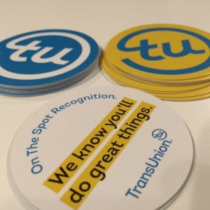 Branding item for TransUnion