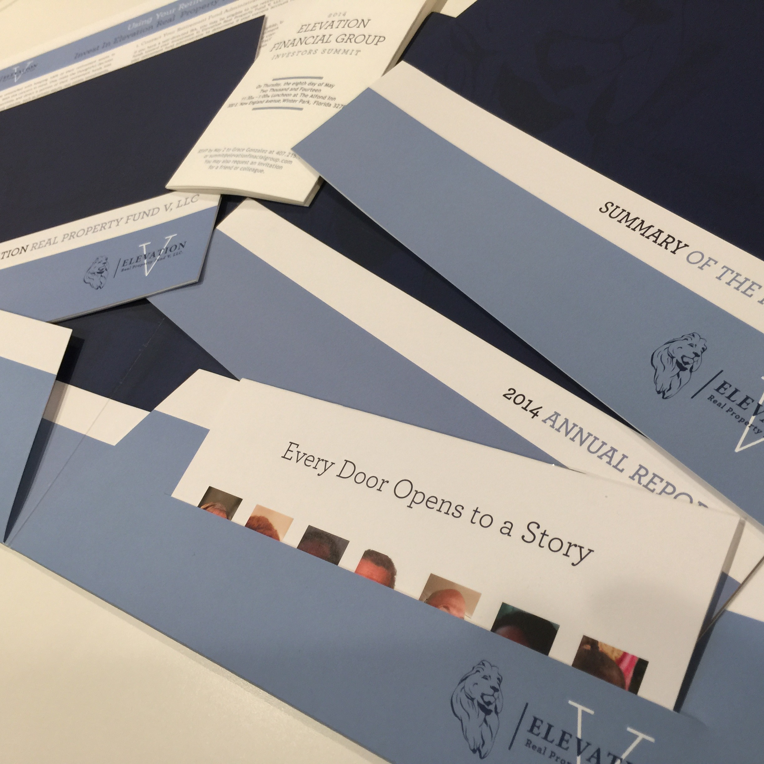 Elevation Financial Group Identity Package