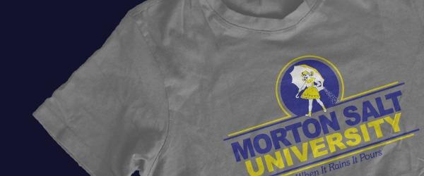 Morton salt shirt