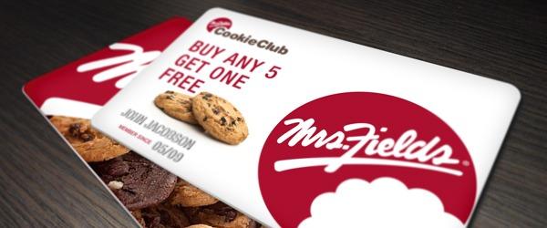 cookie club card